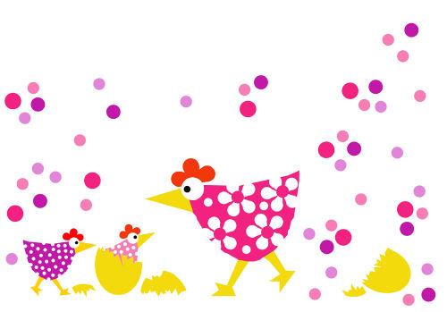 Poule.confettis