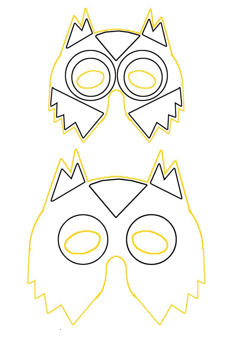Masque.hibou